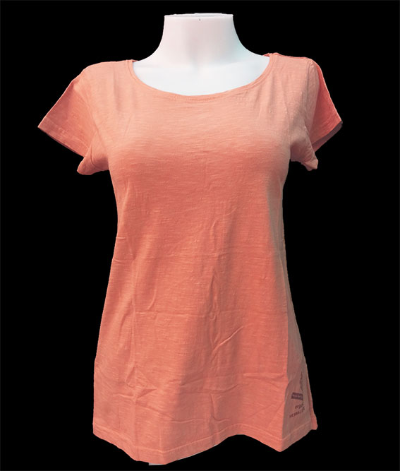 ORGANIC & HERBAL DYE / woman t-shirt – Ash Pink