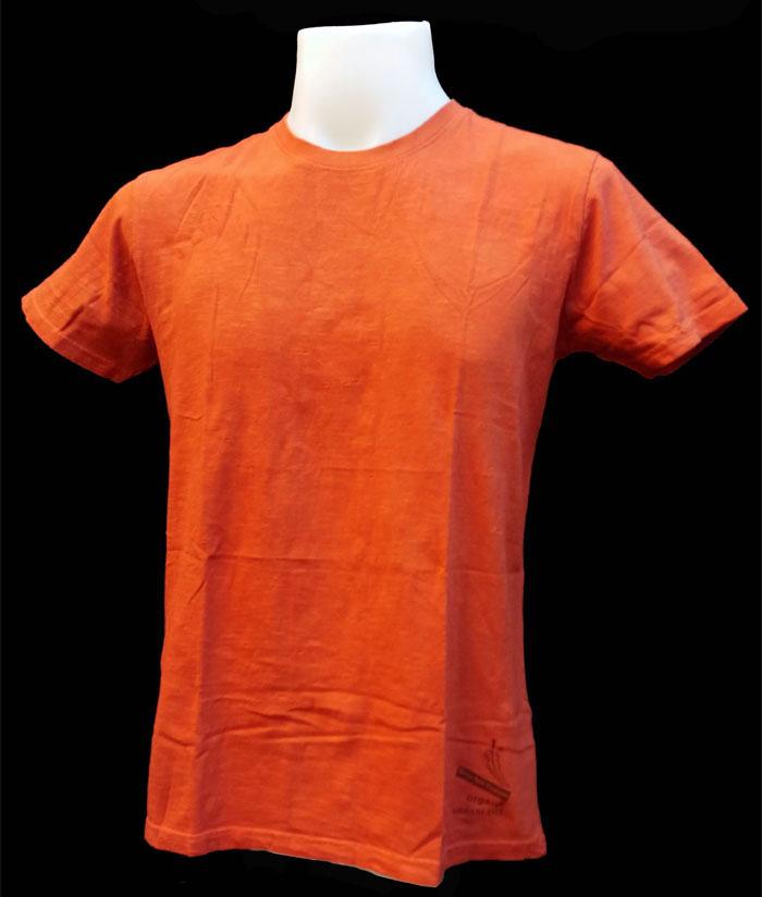 ORGANIC & HERBAL DYE / T-shirt – brick red