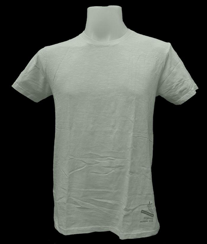 ORGANIC & HERBAL DYE / T-shirt – Light Beige