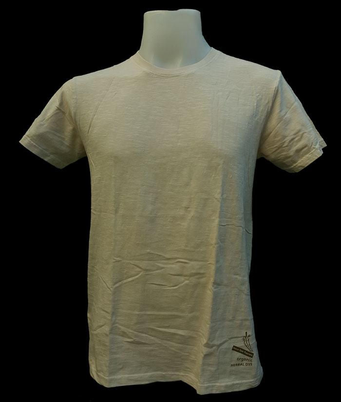 ORGANIC & HERBAL DYE / T-shirt – Olive green